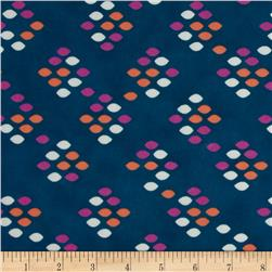 Cotton & Steel Cookie Book Lawn Drops Teal