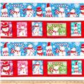 Sweet Season Snowman Stripe Multi