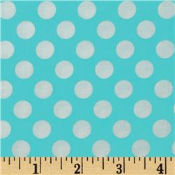 Michael Miller Ta Dot Ocean Fabric