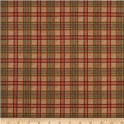 Moda Endangered Sanctuary Flannel Plaid Pecan