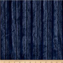 Shannon Minky Luxe Cuddle Chinchilla Navy