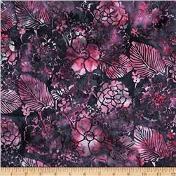 Bali Batiks Handpaints Mixed Floral Camelia
