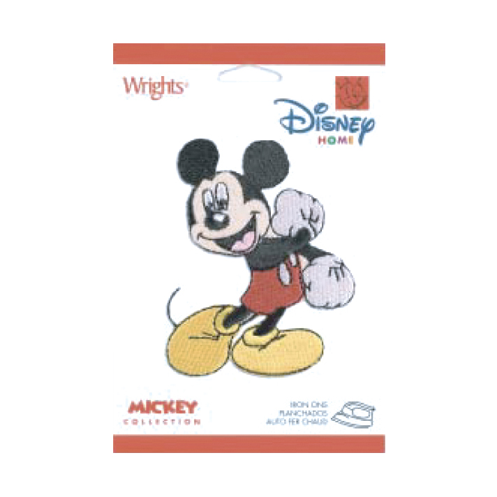 Disney Mickey Mouse Iron On Applique Mickey Fist by Notions Marketing in USA