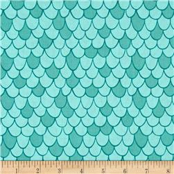 Camelot Under the Sea Scales Aqua
