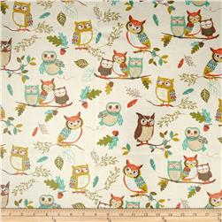 Kaufman Slicker Forest Fellows Owls Paek