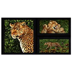 "Leopards 23"" Panel Multi"