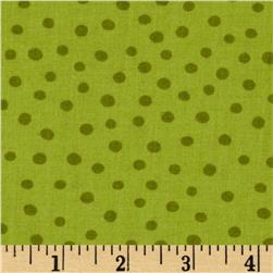 Moda ABC Menagerie Bubble Dots Grass