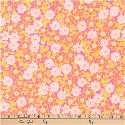 Kaufman Cozy Cotton Flannel Bunches Sorbet