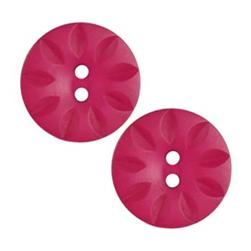 Fashion Button 1'' Petal Cuts Rose