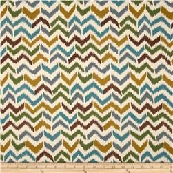 Harper Home Flora Firenza Chevron Bluegrass