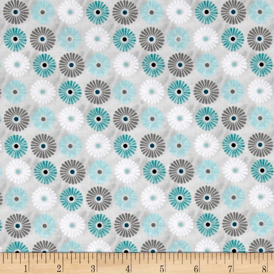 Isabella Flowers Allover Light Gray