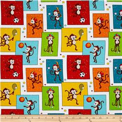Good Sports Patchwork Monkeys Multi