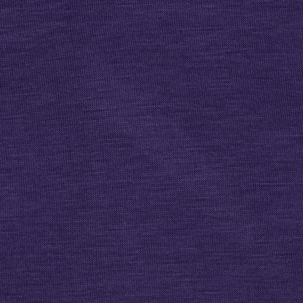 Rayon Spandex Jersey Knit Cyber Grape
