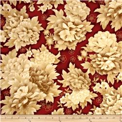 Imperial Collection Metallics Large Flower Vintage