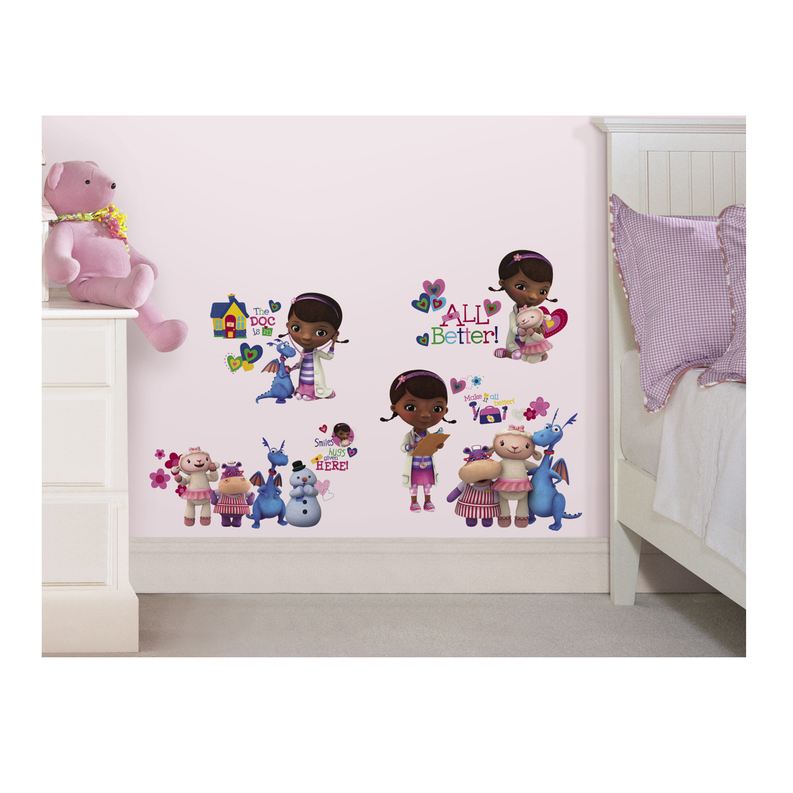 Image of Doc Mcstuffins Wall Wall Decals
