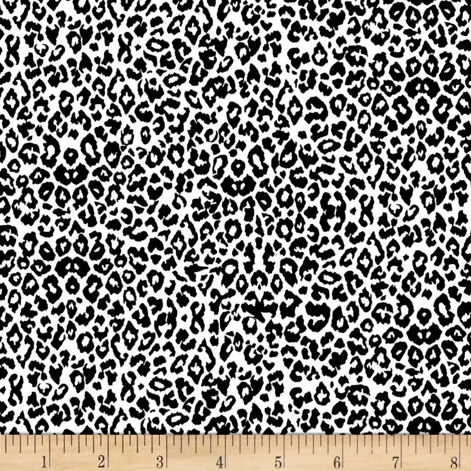 Black Tie Affair Leopard Black/White