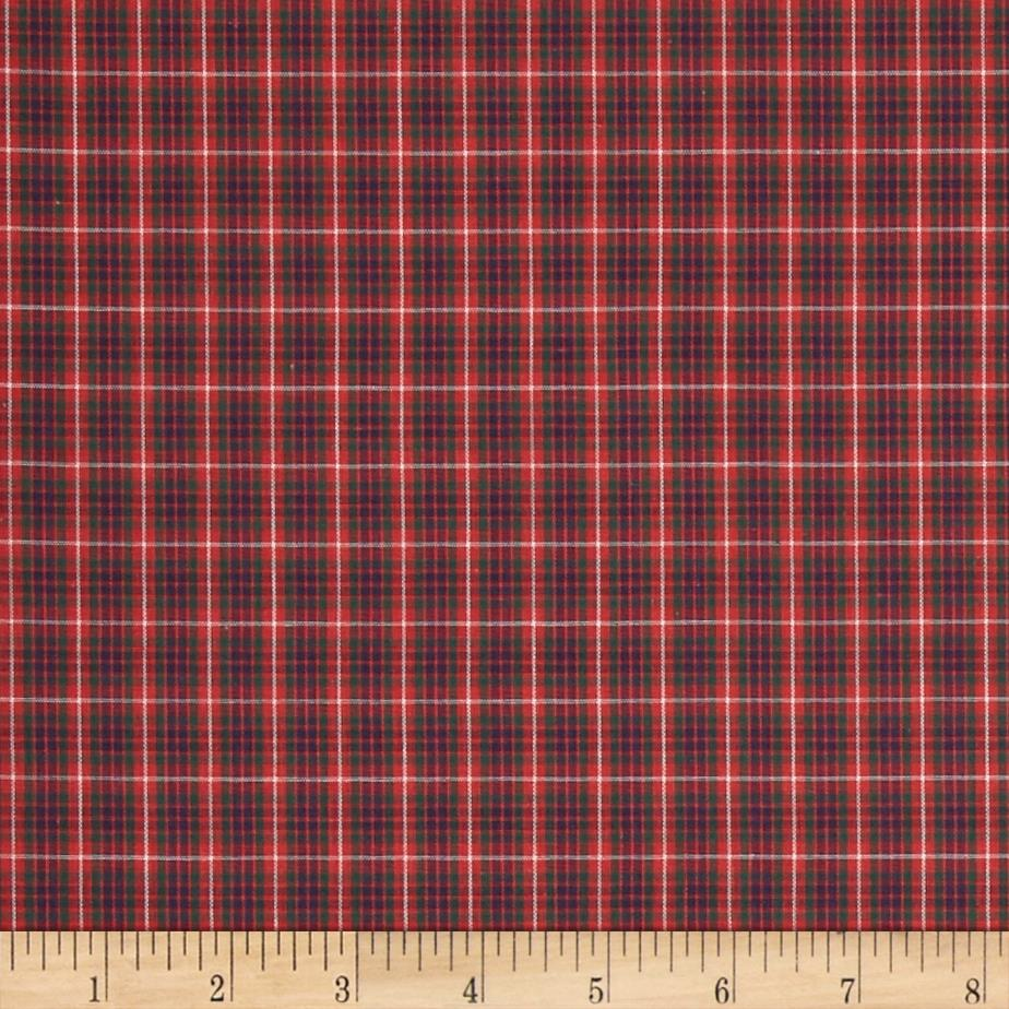 Tartan Plaid Red/Green/Navy