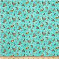 Maywood Studio Roam Sweet Home Little Paisley Aqua