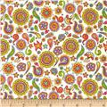 Fabric Fiesta Paisley Cream