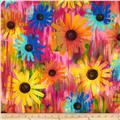 Kanvas Patio Prints Daisy Multi
