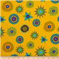 Calypso Frogs Kaleidoscope Yellow/Multi