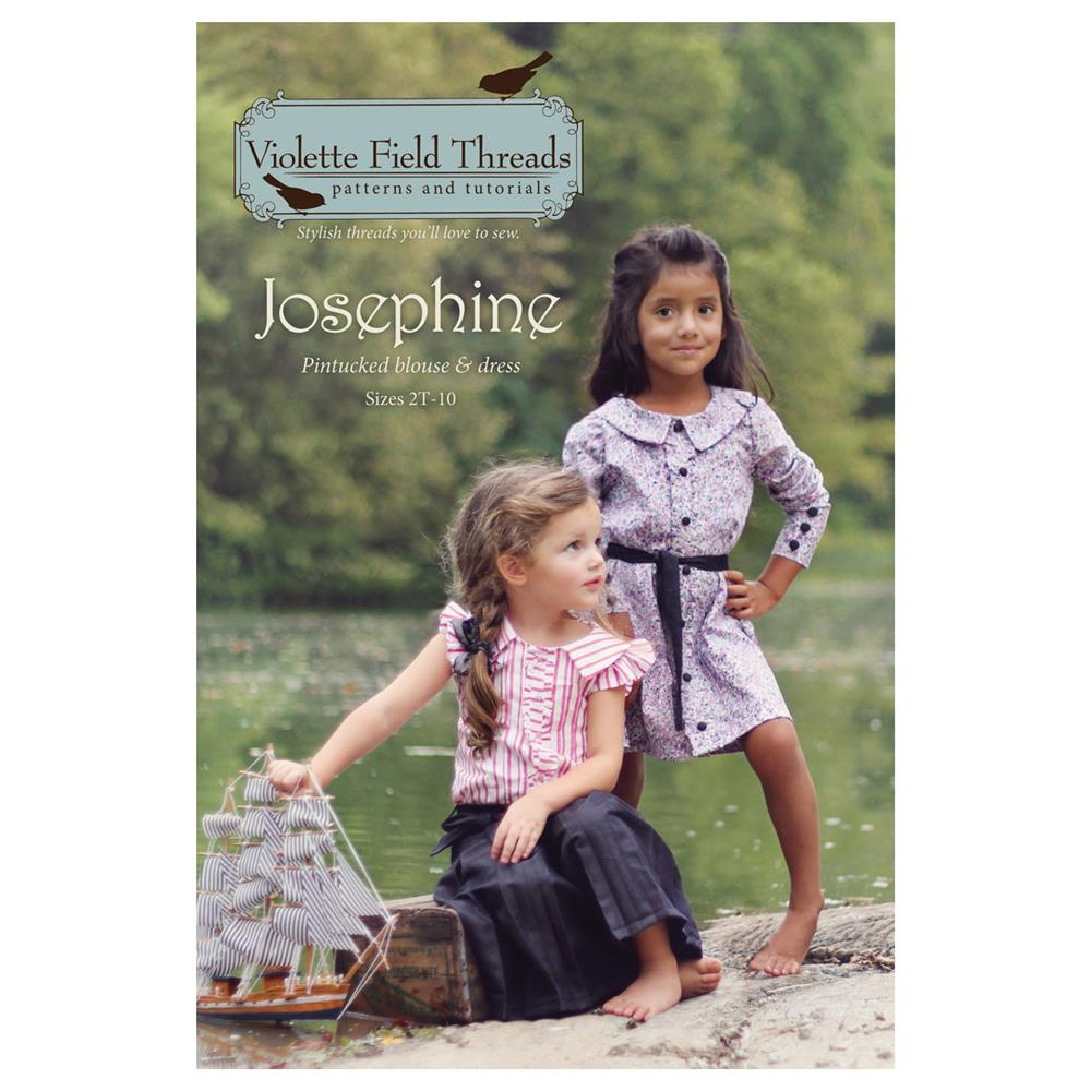 Violette Field Threads Josephine Blouse & Dress Pattern