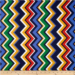 Michael Miller Chevy Chevron Primary Fabric