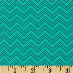 Silly Gilly & Friends Chevron Jade
