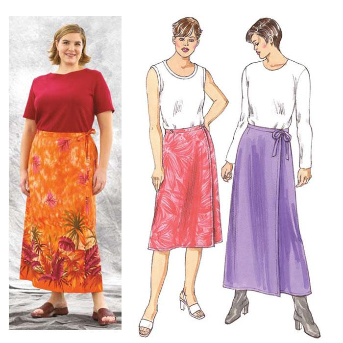 Kwik Sew Skirts Plus Size Pattern