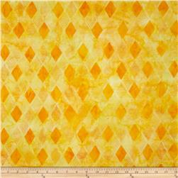 Kaufman Elemental Batiks Geos Diamond Stripe Bright