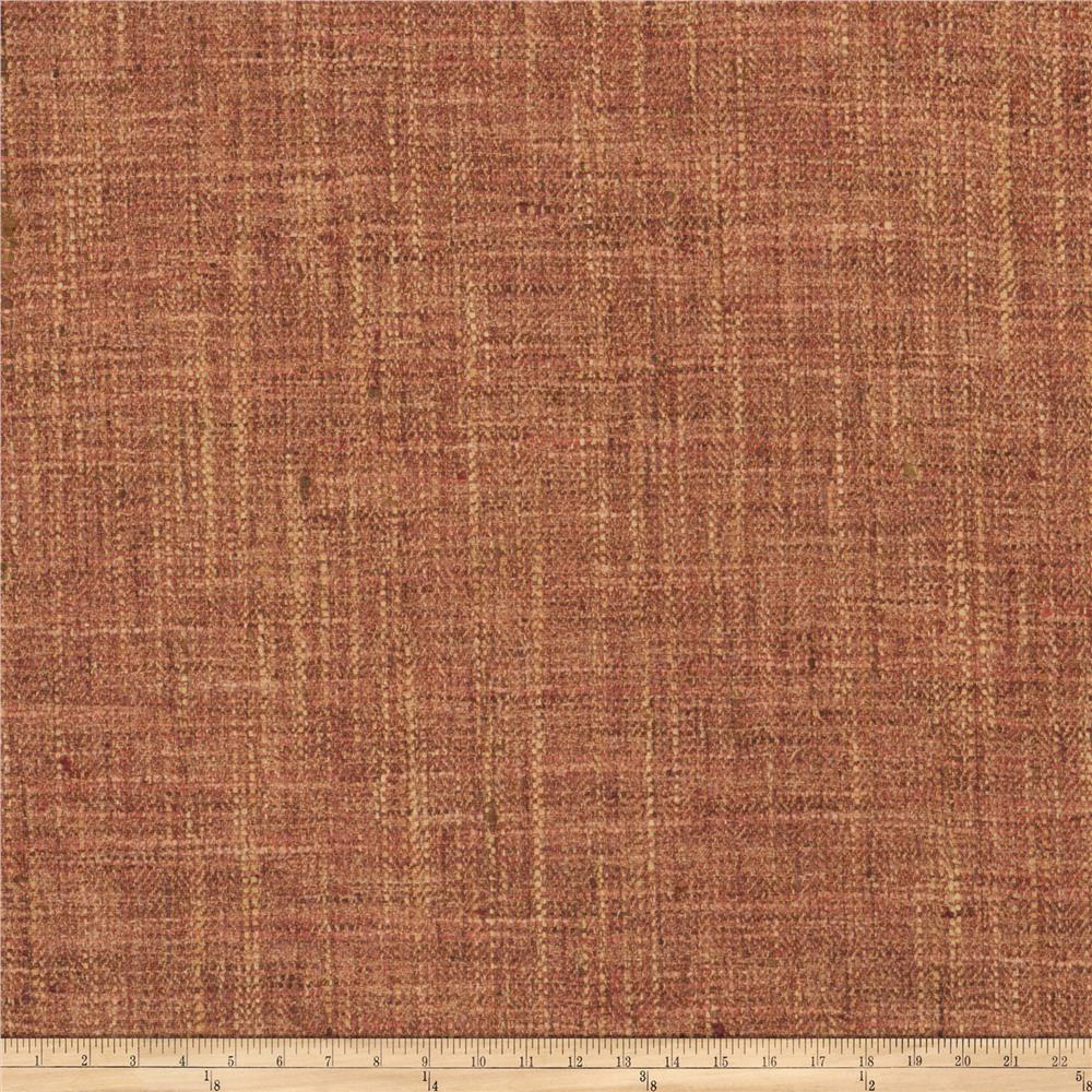 Fabricut Phelps Basketweave Poppy