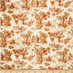 Jaclyn Smith Toile 02099 Blend Garden Spice