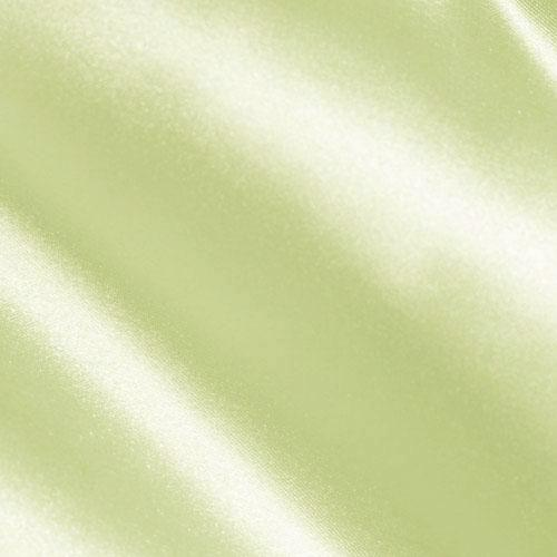 Charmeuse Satin Apple Green