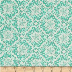 Mint To Be Rococo Mint Fabric