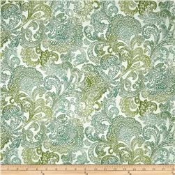 Richloom Indoor/Outdoor Bocachia Jacquard Seaspray