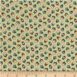 M is for Mystery Wallpaper Flowers Multi
