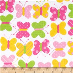 Urban Zoologie Flannel Butterflies Sweet