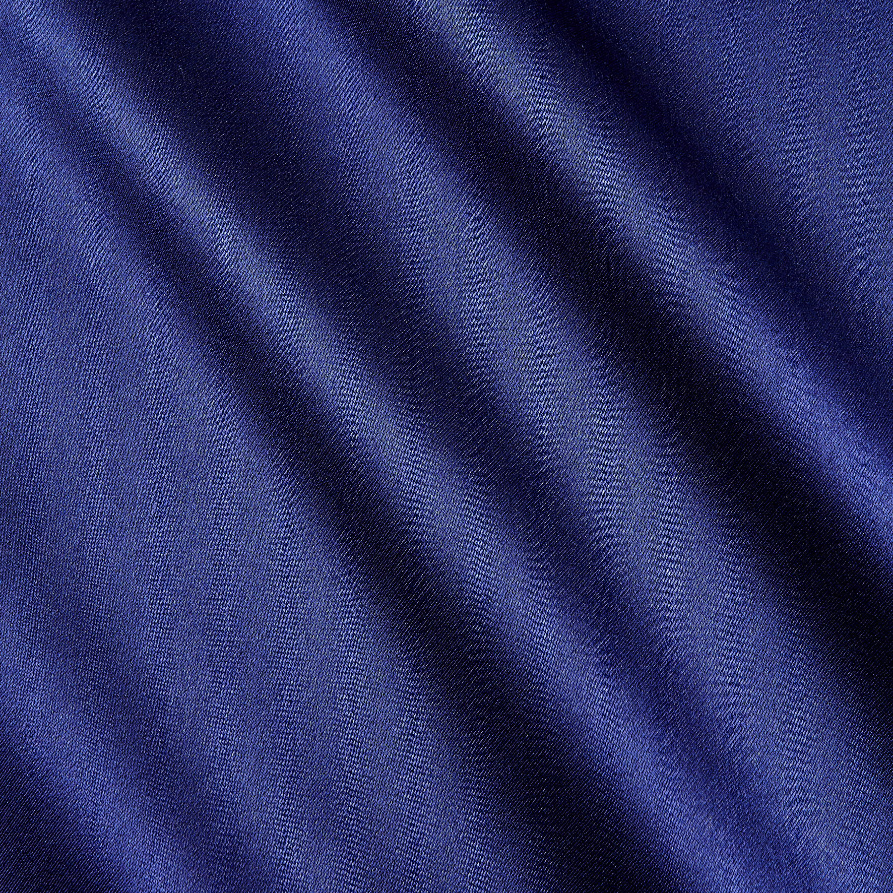Image of 100% Silk Charmeuse Navy Fabric