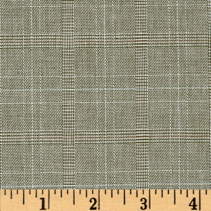 Yarn Dyed Plaid Suiting Grey