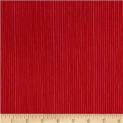 Avalana Jersey Knit Stripe Red