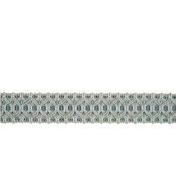 "Fabricut 1.5"" Turlington Trim Aquatic"