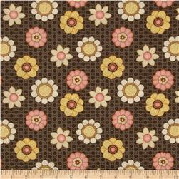 Let it Bee Floral Brown