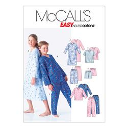 McCall's Boys'/Girls' Shirt, Tops, Shorts and Pants Pattern