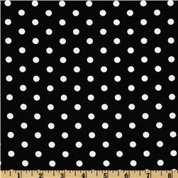 Pimatex Basics Polka Dot Black/White