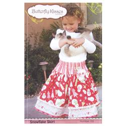Butterfly Kisses Snowflake Skirt Pattern