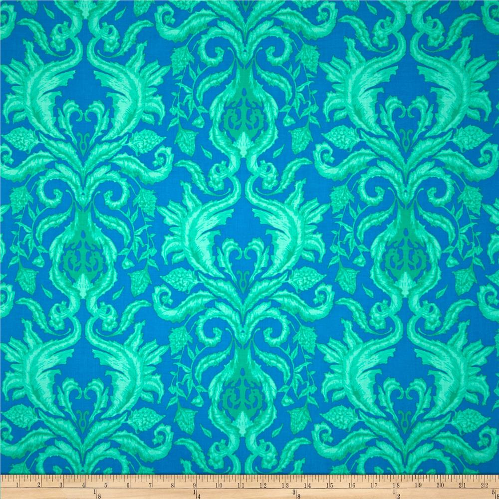 The Garden of Earthly Delights Damask Teal