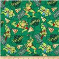 Teenage Mutant Ninja Turtles Retro Turtle Power Pizza Toss Green