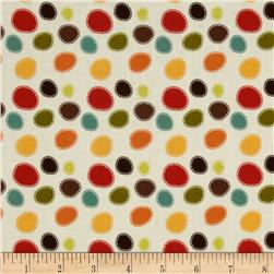 Riley Blake Giraffe Crossing Giraffe Dots Cream