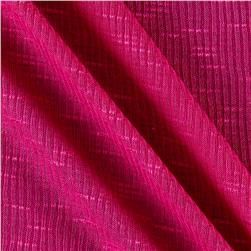 2x1 Slub Rib Knit Hot Pink
