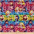 Nelvana Little Charmers Charmer Girls Ombre Sequins Multi